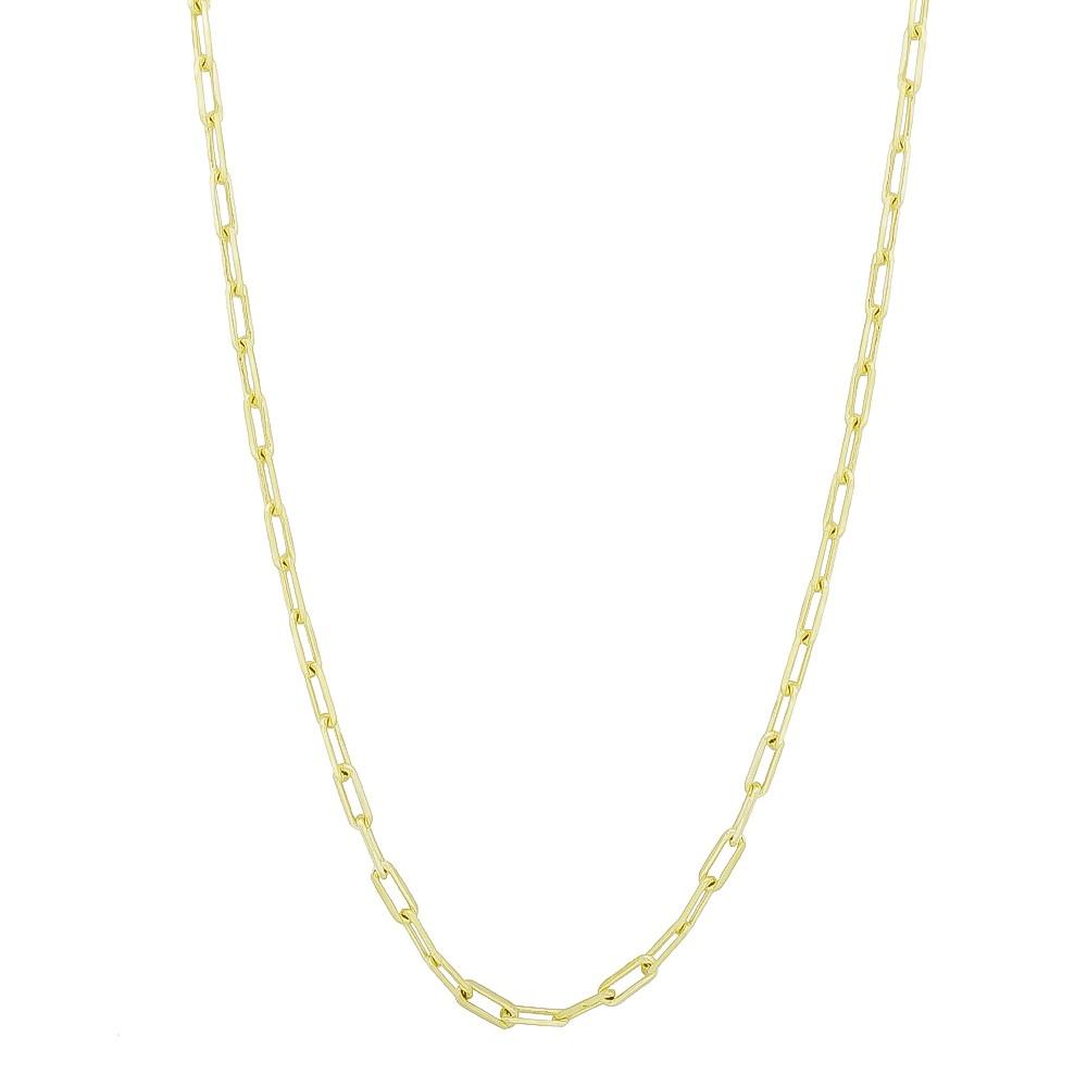 Corrente Elo Cartier Folheada em Ouro 18k - Giro Semijoias