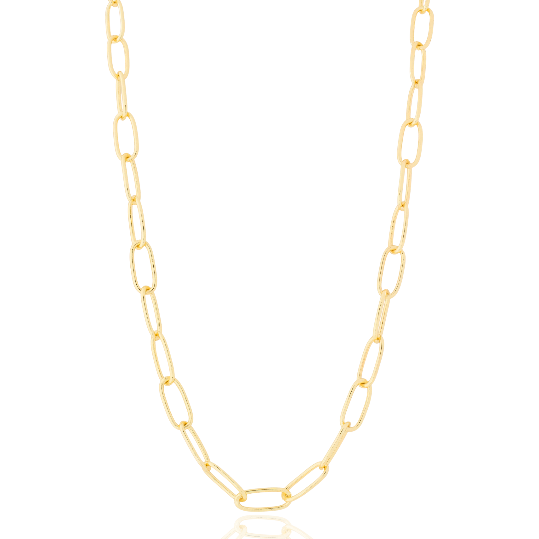 Corrente Elo Cartier Folheado em Ouro 18k - Giro Semijoias