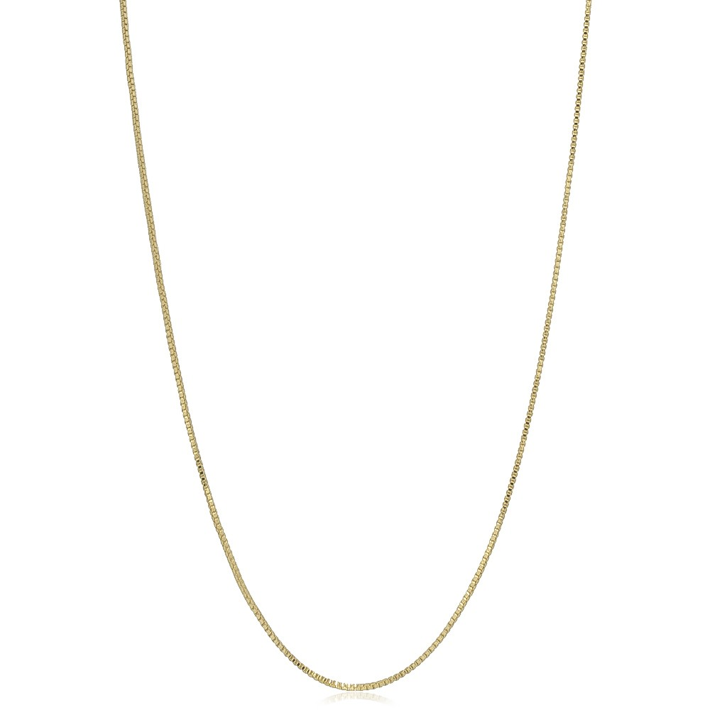 Corrente Elo Veneziana 50cm Folheada em Ouro 18k - Giro Semijoias