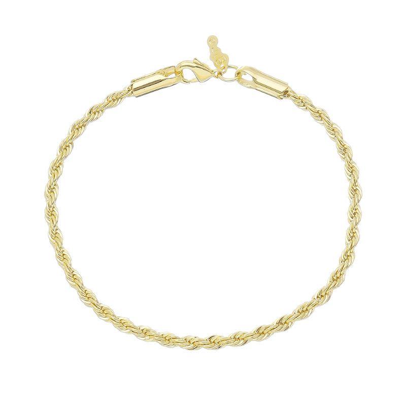 Pulseira Cordão Baiano Folheada em Ouro 18k - Giro Semijoias