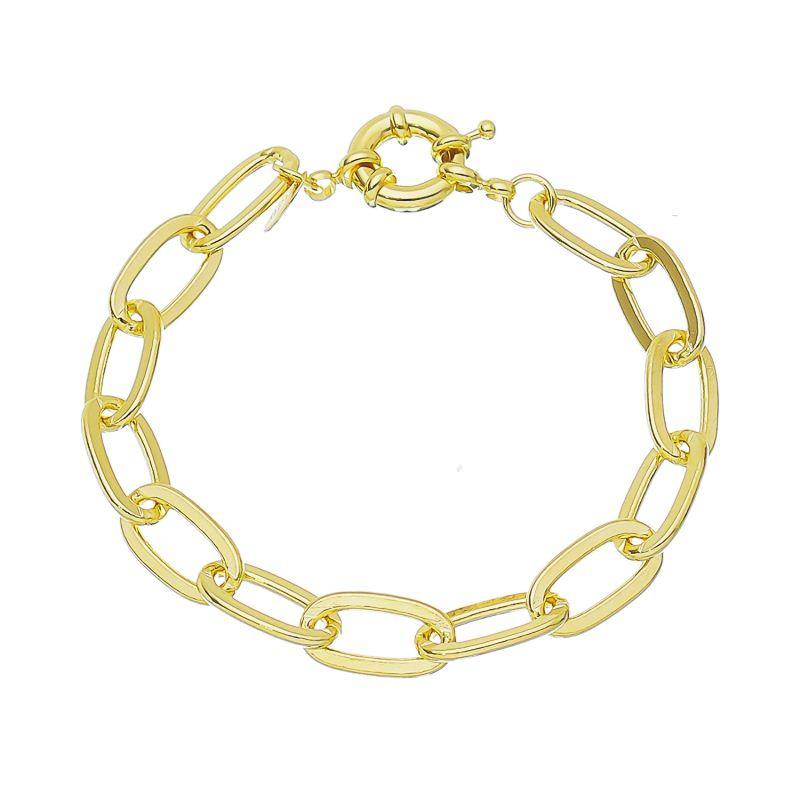 Pulseira Elos Cartier Folheado em Ouro 18k - Giro Semijoias