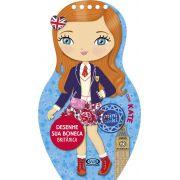 Desenhe sua Boneca Britânica com Kate