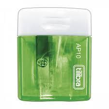 Apontador Tilibra  Verde - 1 furo