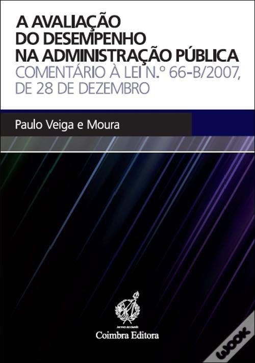 Avaliacao do Desempenho na Administracao Publica, A