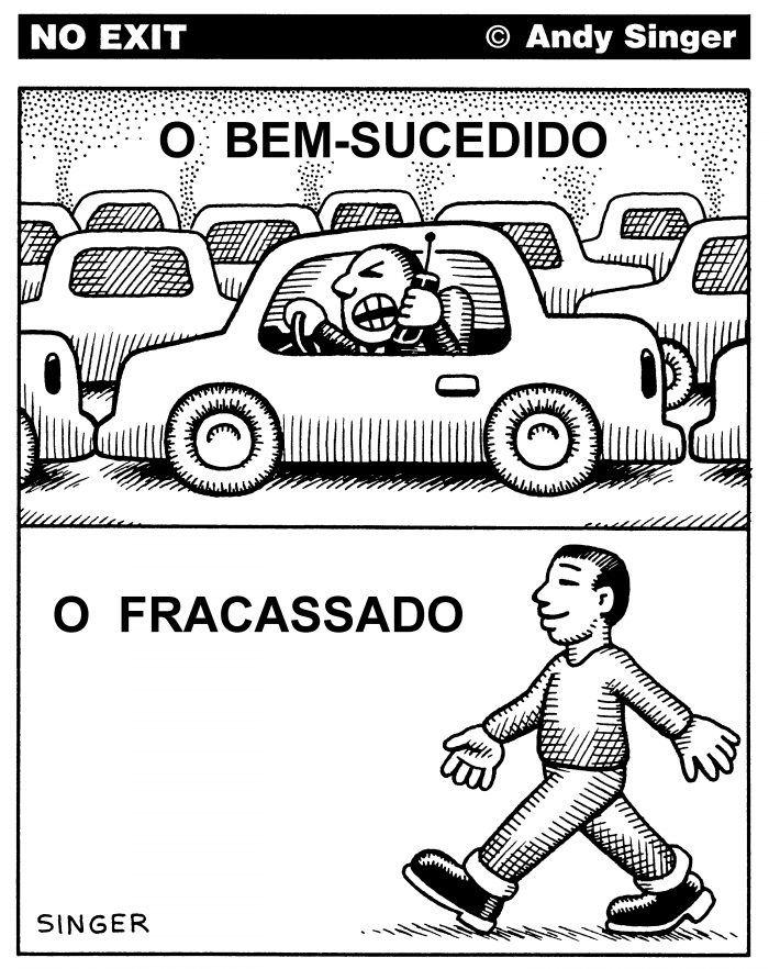 CARTOONS: ATROPELANDO A DITADURA DO AUTOMOVEL