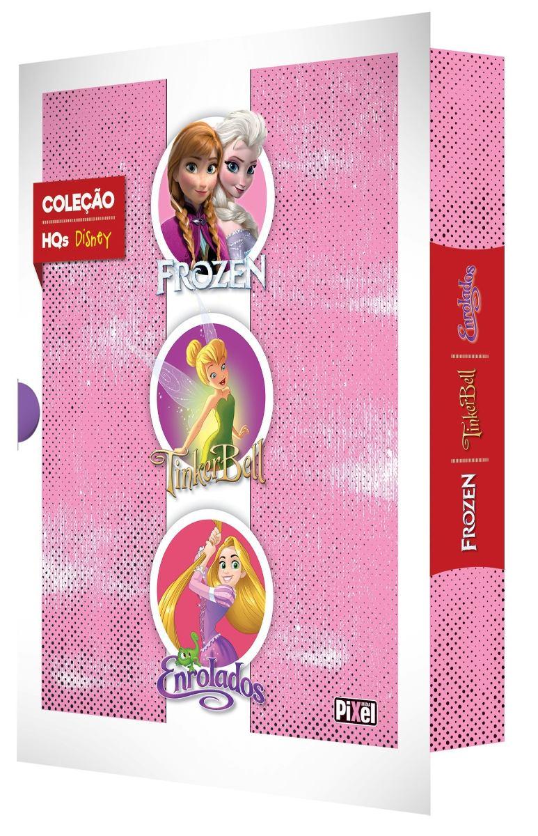 COLEÇÃO HQs Disney (Frozen, Tinker Bell , Enrolados )