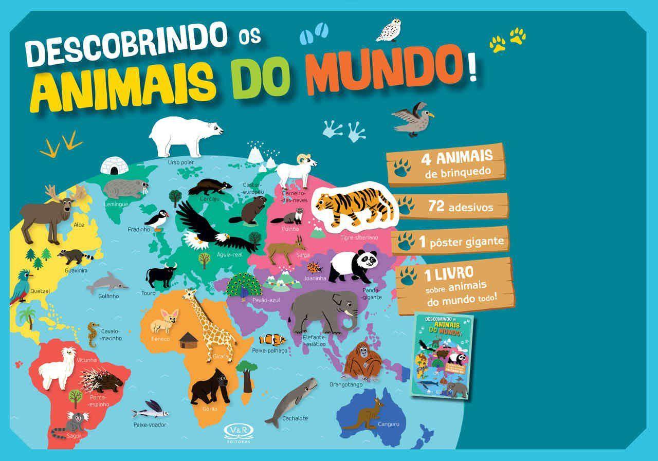 Descobrindo os Animais do Mundo!