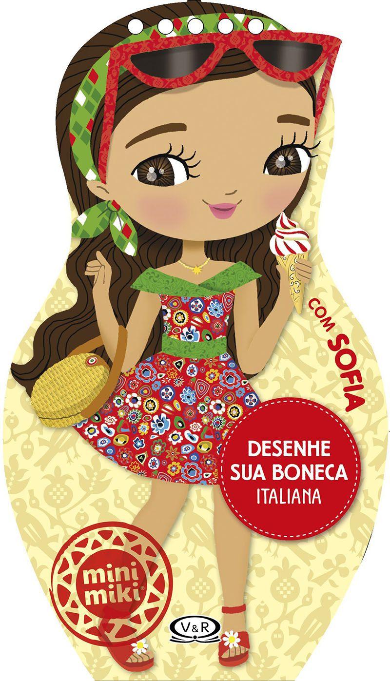 Desenhe sua Boneca Italiana com Sofia