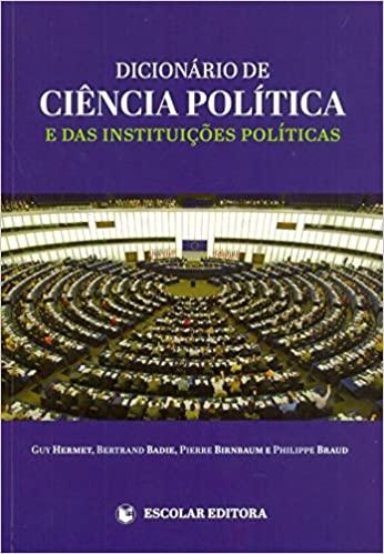 Dicionario de Ciencia Politica e das Instituicoes Politicas