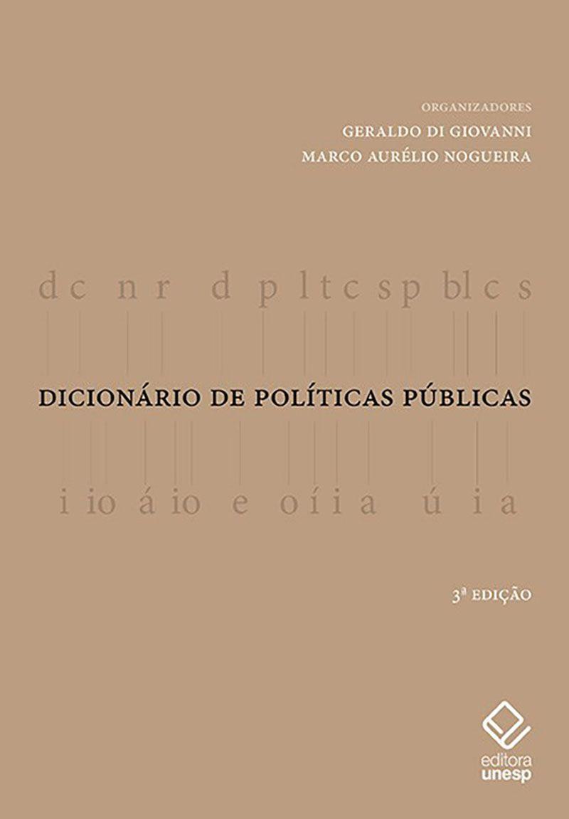 DICIONARIO DE POLITICAS PUBLIC