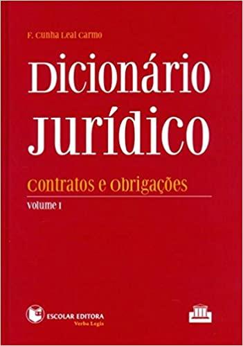 Dicionario Juridico - Vol. I