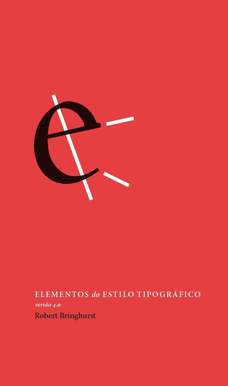 Elementos do estilo tipográfico