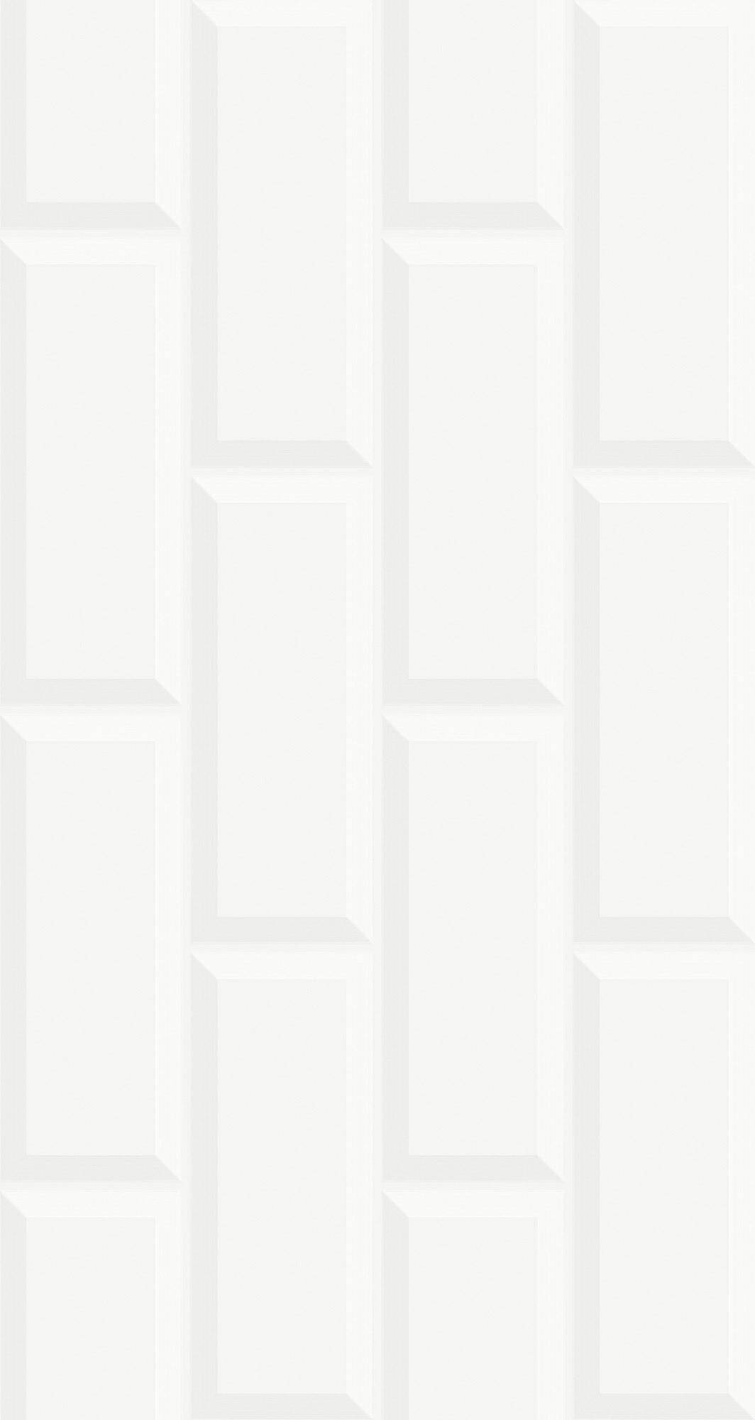 AZULEJO PISOFORTE 32X60A DECORARE BIANCO - CAIXA COM 2,30M2