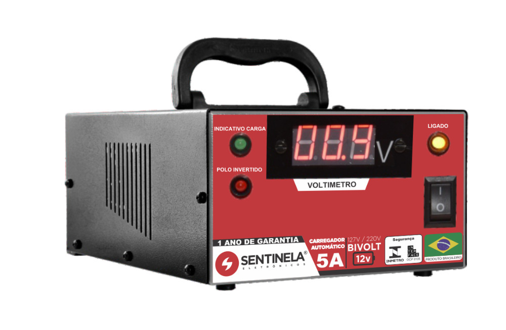Carregador Bateria Mod.Ca512