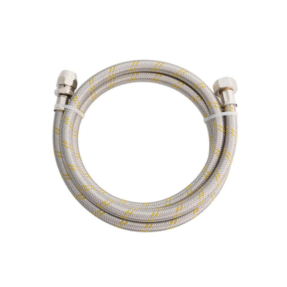 Engate Flexivel Inox Gas 1,20mt X 1/2´ M X F Blukit