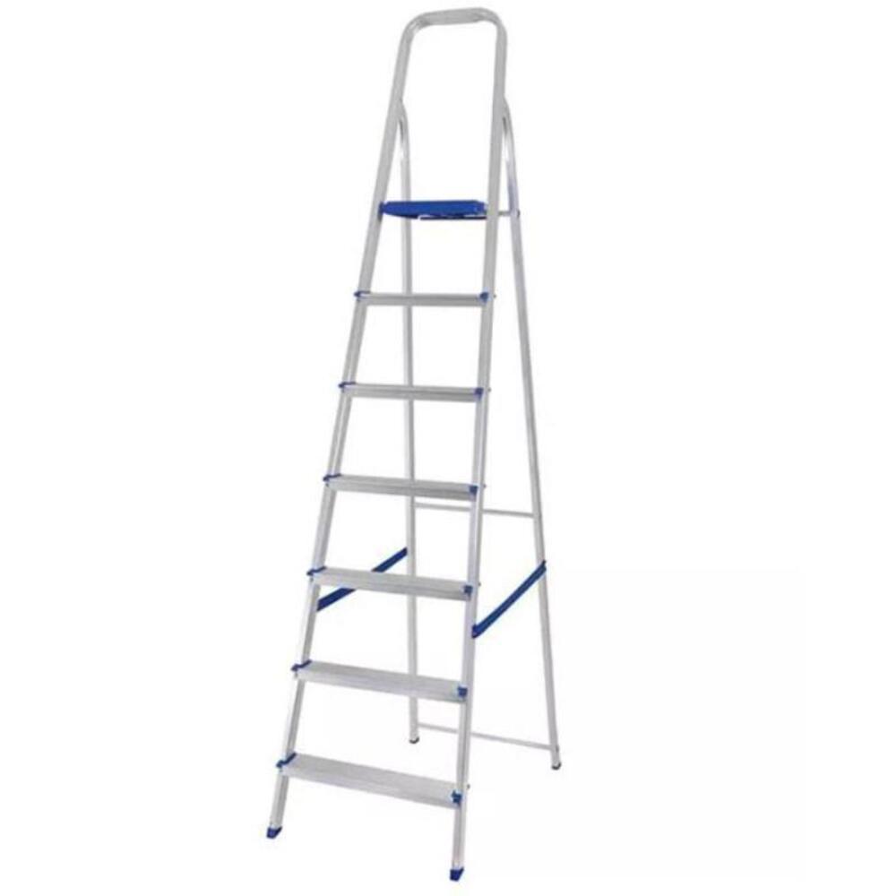 Escada Domestica Aluminio 07 Degraus Mor