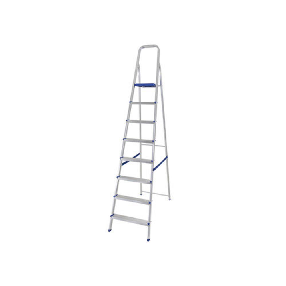Escada Domestica Aluminio 08 Degraus