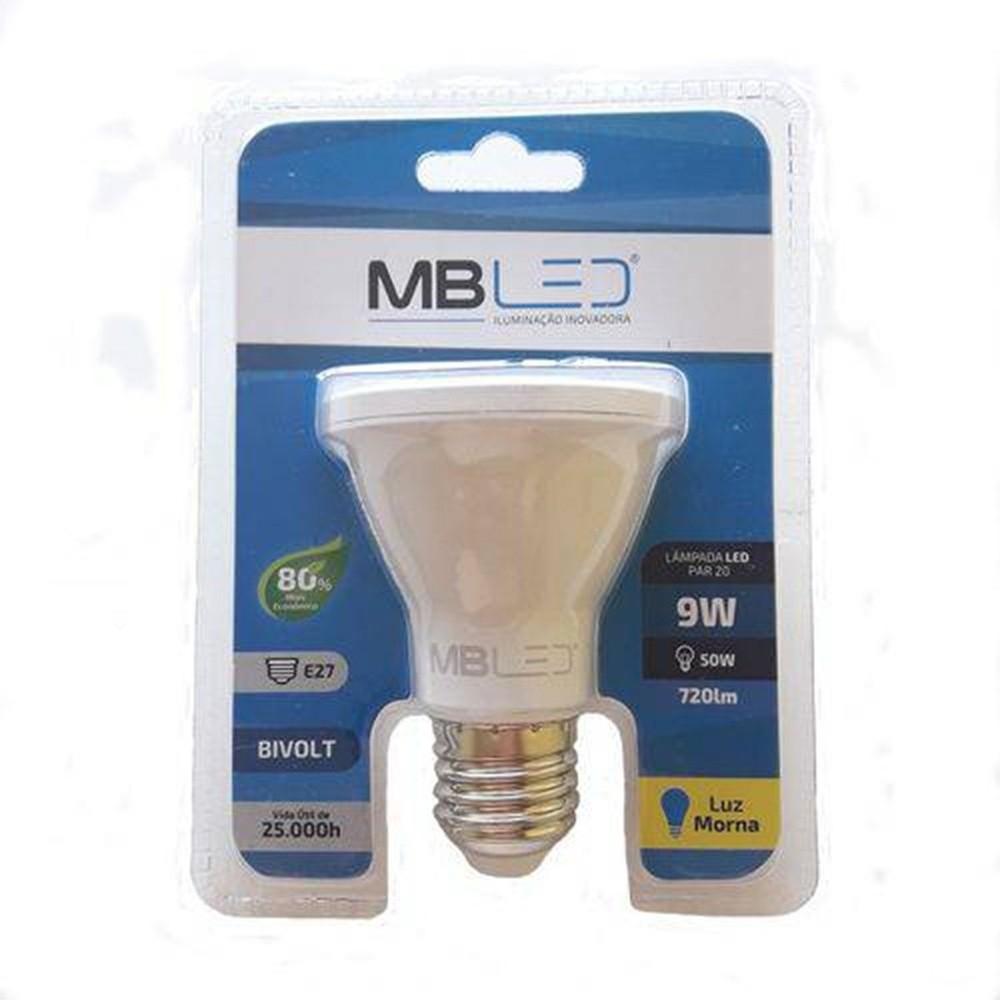 LAMPADA LED PAR20 9W