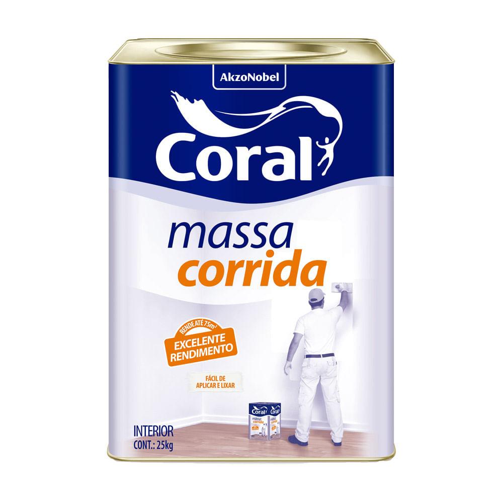 MASSA CORRIDA CORAL 18LT