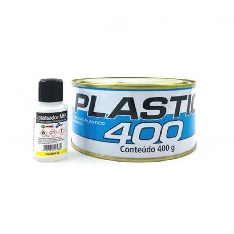 MASSA PLASTICA 400GR C/ CATALISADOR