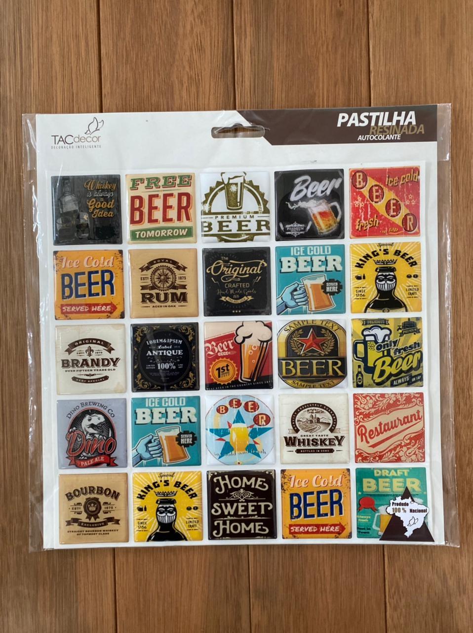 Pastilha Resina Adesiva Beer