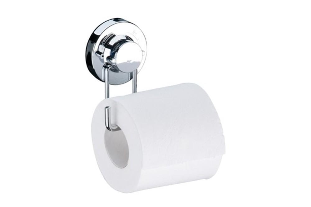 Porta Papel Higienico Cromado C/Ventosa R.4008 Future