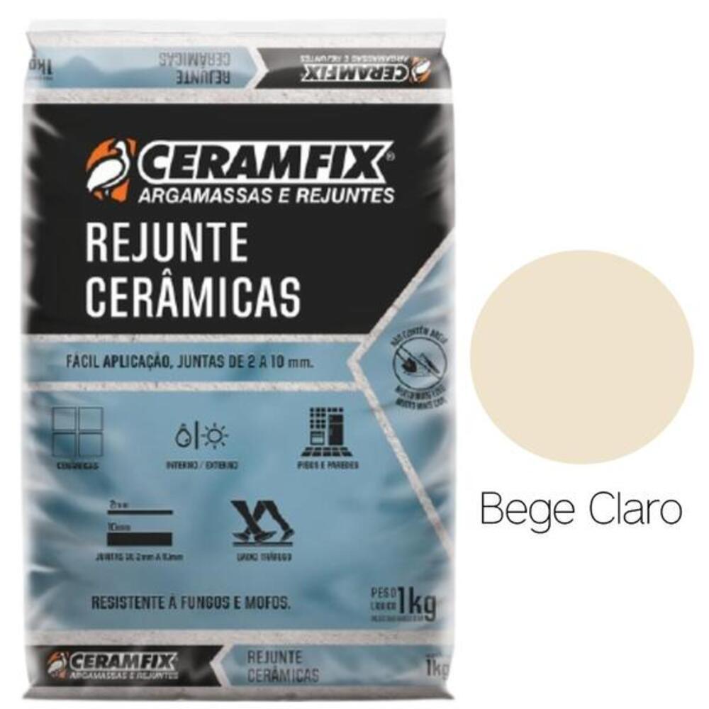 REJUNTE COMUM BEGE CLARO 1KG