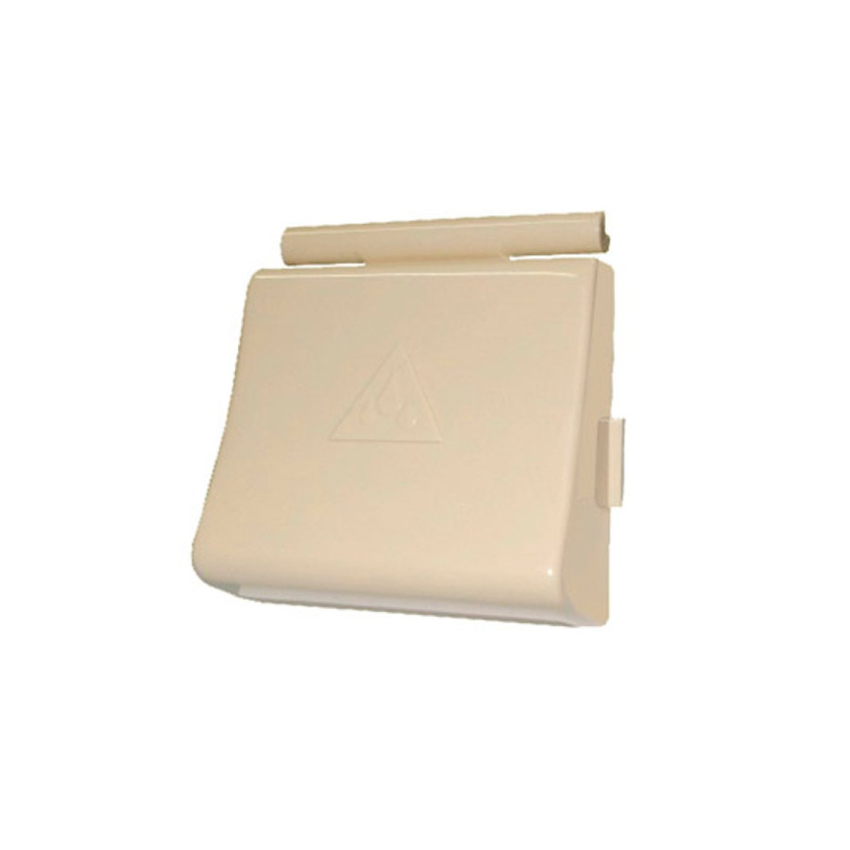 TECLA PLASTICA BEGE RI BASE 1.1/2´ DOCOL