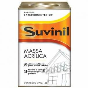 MASSA CORRIDA SUVINIL ACRILICA LT