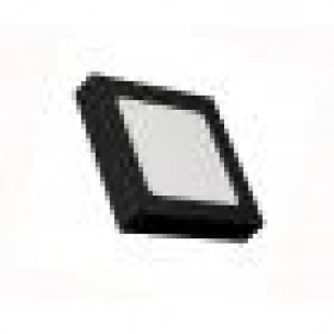 PAINEL LED ECOFORCE 2EM1 QD 12W 6500K ABS PRETO