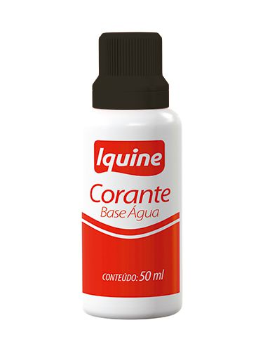 CORANTE IQUINE BASE AGUA 50ML PRETO