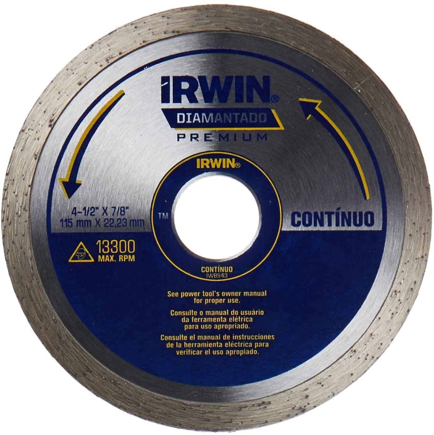 DISCO IRWIN DIAMANTADO LISO ATC 110MMX20MM 13891