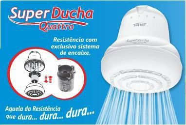 DUCHA FAME SUPER 4T C/ CANO 3200W 3195
