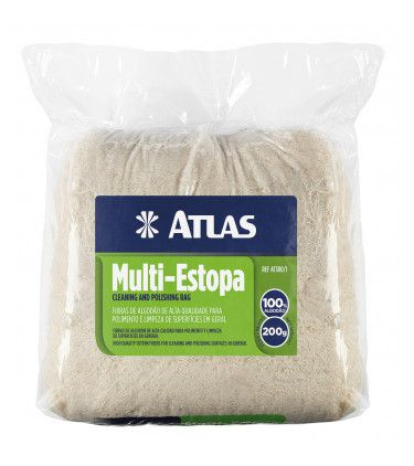 ESTOPA ATLAS ALGODAO 200G AT380/1