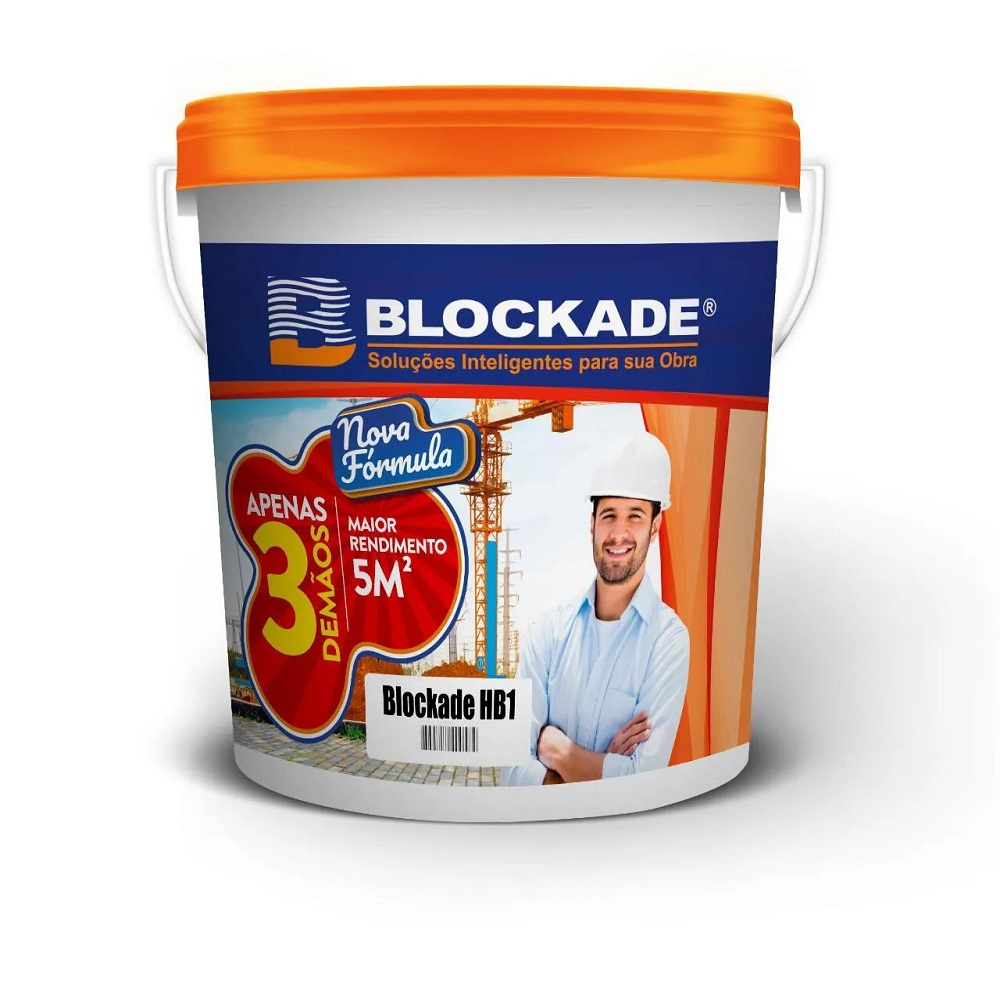 IMPERMEABILIZANTE BLOCKADE HB-1 CONCRETO 5KG
