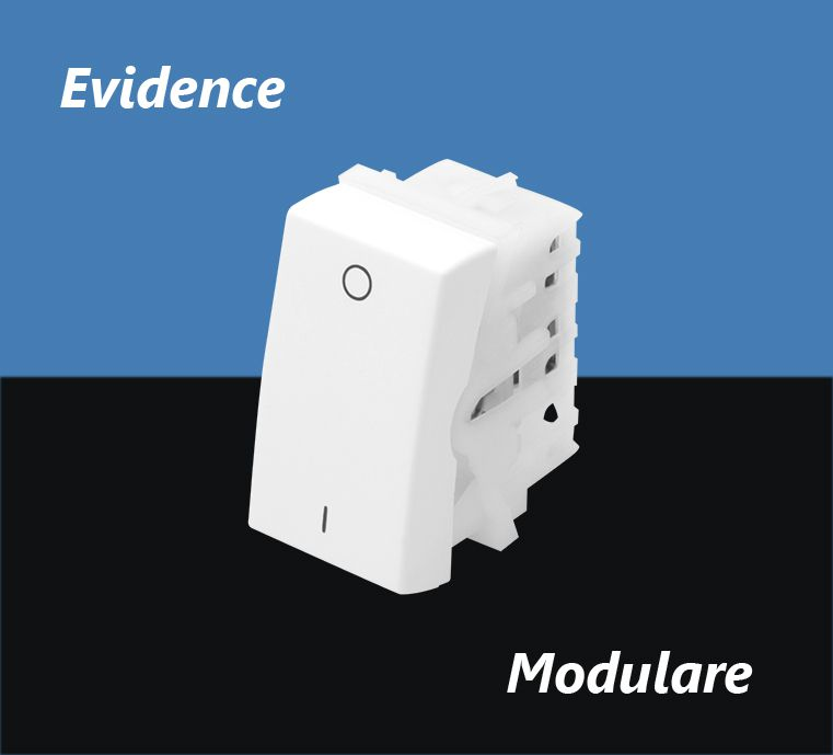 INTERRUPTOR FAME EVIDENCE MODULO BIP SIMPLES 16A 2868