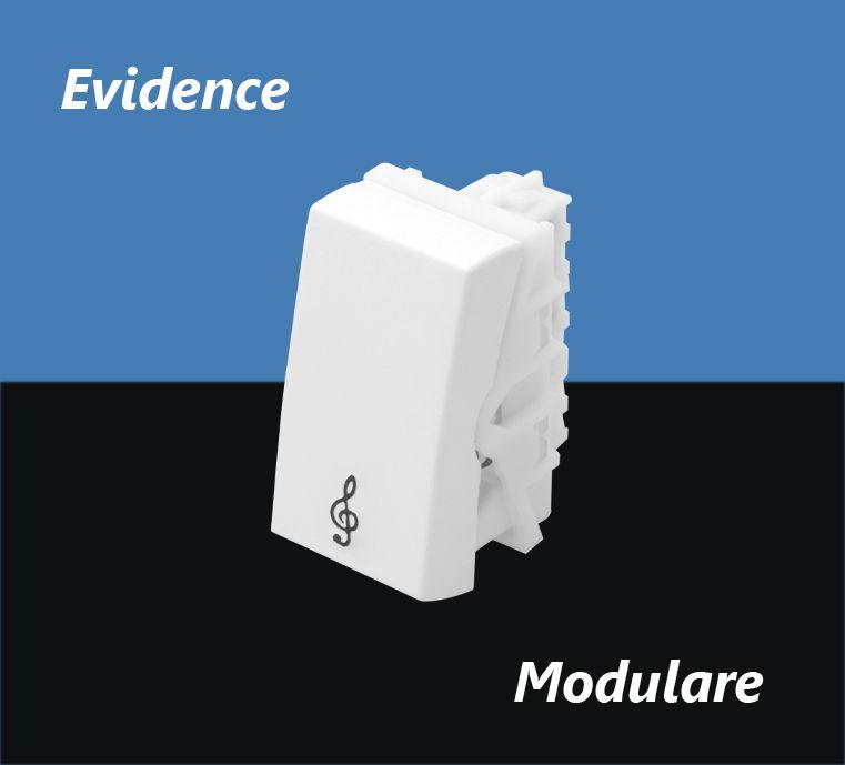 INTERRUPTOR FAME EVIDENCE PULS MODULO CAMPAINHA 16A 2866