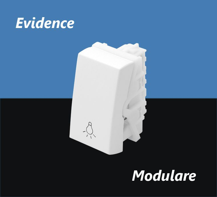 INTERRUPTOR FAME EVIDENCE PULS MODULO MINUTERIA 16A 2867