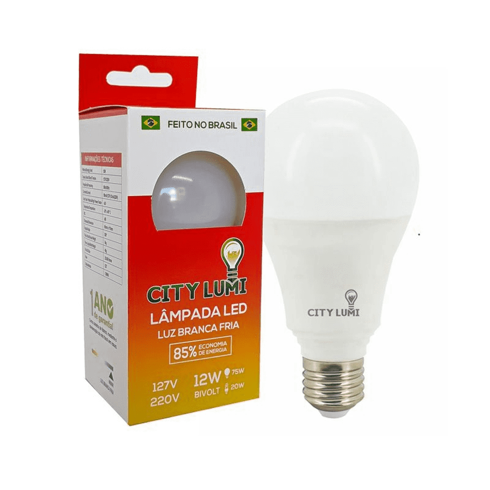 LAMPADA LED CITY LUMI 12W