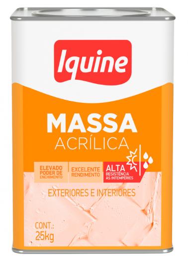 MASSA CORRIDA IQUINE DELANIL 25KG ACRILICA LT
