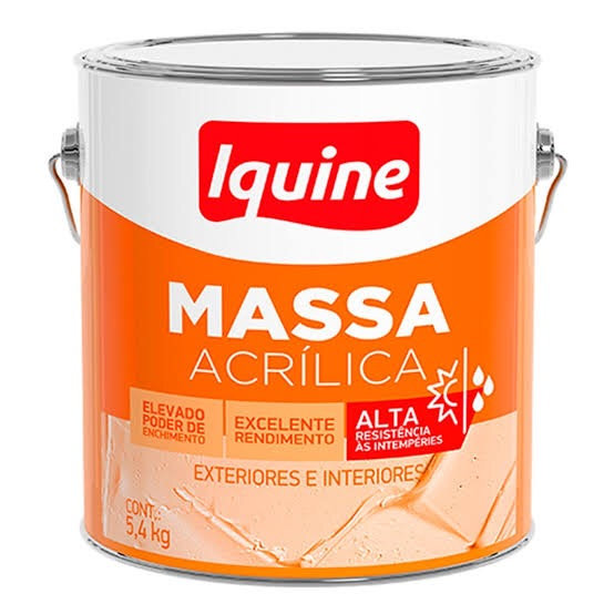 MASSA CORRIDA IQUINE DELANIL GL ACRILICA