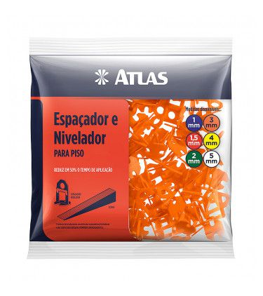 NIVELADOR ATLAS CERAMICA PLAST 3MM AT50/3