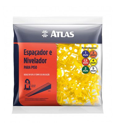 NIVELADOR ATLAS CERAMICA PLAST 4MM AT50/4