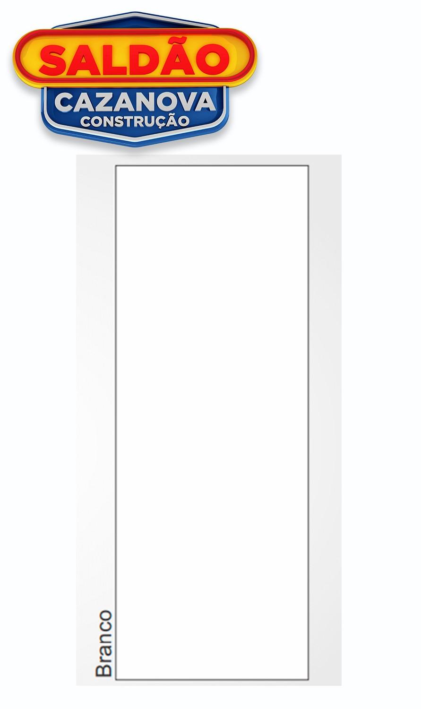 Porta Boa Vista Prensada Hdf Lisa Branca 80x210cm