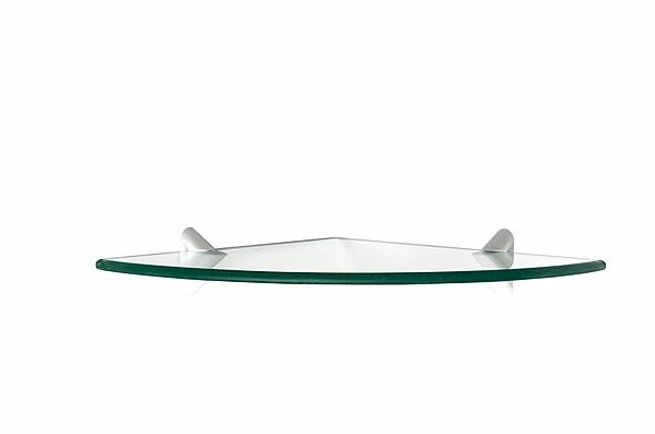 PRATELEIRA PRATEFIX GLASS CANTO RECORTE 20X20 C/SUP