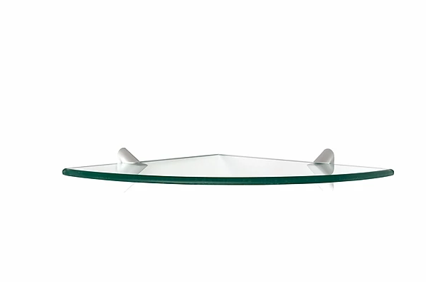 PRATELEIRA PRATEFIX GLASS CANTO RECORTE 25X25 C/SUP