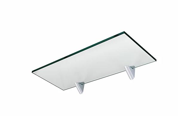 PRATELEIRA PRATEFIX GLASS RETA 15X40 C/SUP