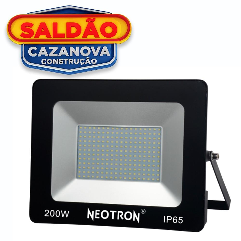 REFLETOR SUPER LED NEOTRON NE-0202 200W 6500K