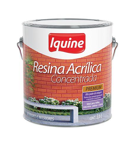RESINA IQUINE CONCENTRADA 3,6L