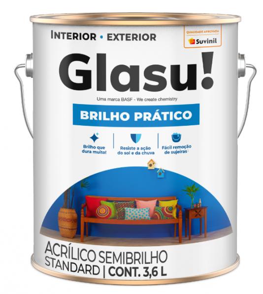 TINTA GLASU ACR BRILHO PRATICO SB GL TREVO SORTE